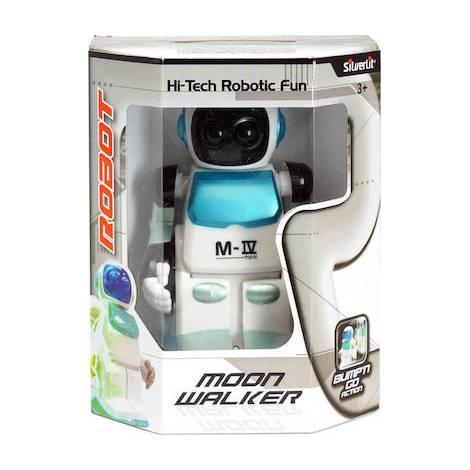 AS Silverlit Robot Moon Walker Bump'N Go Action Robot (7530-88310)