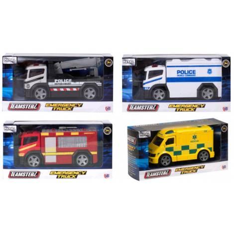 AS TEAMSTERZ - Emergency Trucks Vehicles 1:43 (Random - Τυχαία επιλογή ) (7535-16450)