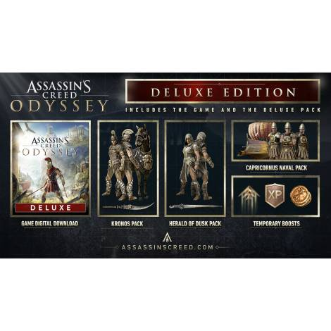 Assassin's Creed Odyssey - Deluxe Edition Uplay CD Key Only (Κωδικός μόνο) (PC)