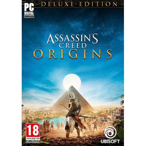 Assassin's Creed: Origins - Deluxe Edition - Uplay CD Key (Κωδικός μόνο) (PC)