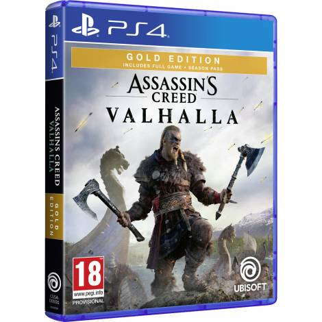 Assassin`s Creed: Valhalla - Gold Edition (PS4)