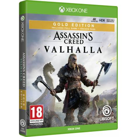 Assassin`s Creed: Valhalla - Gold Edition (XBOX ONE)