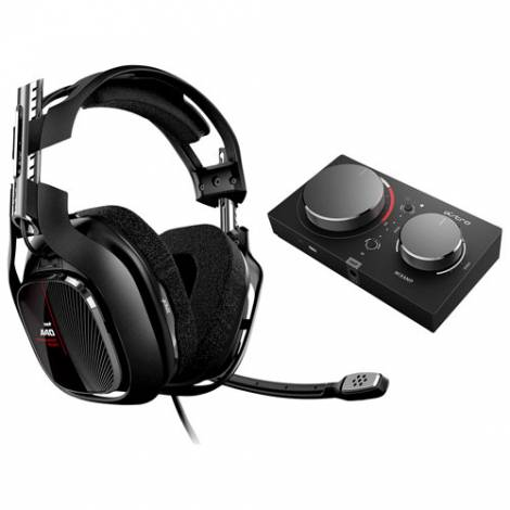 ASTRO A40 TR ΧΒ1/PC & MIX AMP PRO TR - Ενσυρματα Gaming Ακουστικά - Μαύρο