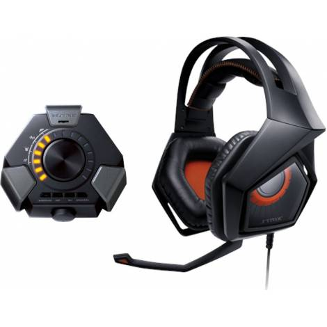 ASUS Strix DSP Gaming Headset with 7.1 Virtual Surround, USB Audio Station for PC/PS4/Xbox/Mac (ΕΚΘΕΣΙΑΚΟ ΚΟΜΜΑΤΙ,ΚΑΙΝΟΥΡΓΙΟ)