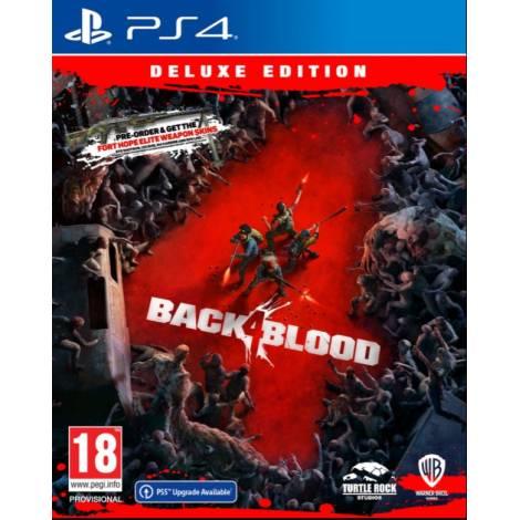 Back 4 Blood (Deluxe Edition) (με pre-order bonus) (PS4)