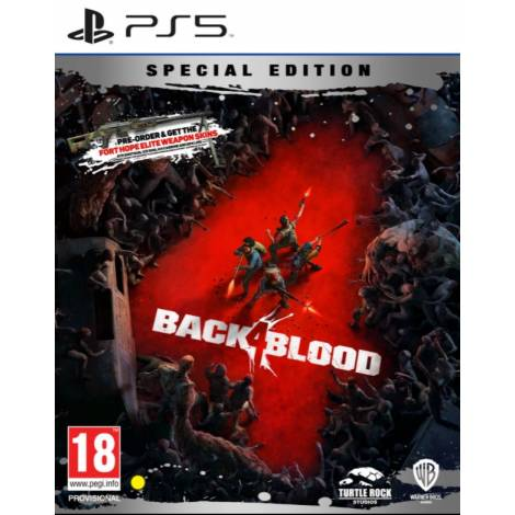Back 4 Blood (Special Steelbook Edition) (με pre-order bonus) (PS5)