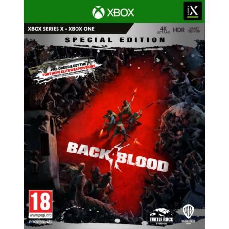 Back 4 Blood (Special Steelbook Edition) (με pre-order bonus) (Xbox One/Series X)