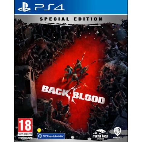 Back 4 Blood (Special Steelbook Edition) (με pre-order bonus) (PS4)