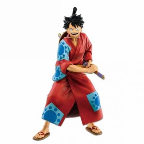 Banpresto One Piece Monkey D. Luffy Japanese Style Statue (85204)