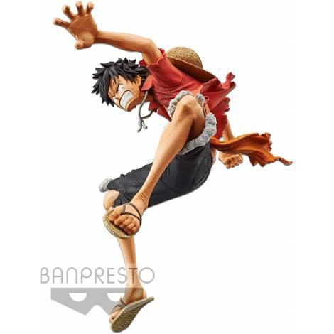 Banpresto One Piece: Stampede Movie King Artist - Monkey D. Luffy Statue (15cm) (85611)
