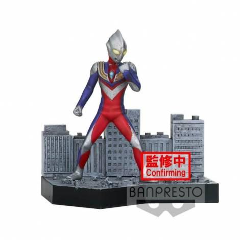Banpresto Ultraman Tiga Special Effects Stagement Ultraman Tiga #44 (A:Ultraman Tiga) (18057)