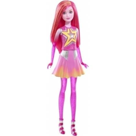 Barbie Star Light Adventure Φίλες - Ροζ κούκλα (DLT27) (Χτυπημένο κουτάκι)