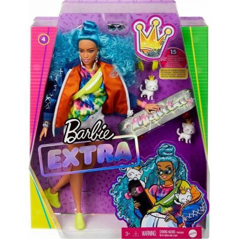 Mattel Barbie Extra Blue Curly Hair Curly Hair (GRN30)