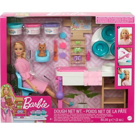 Barbie Wellness - Ινστιτούτο Ομορφιάς με Κούκλα  (GJR84)