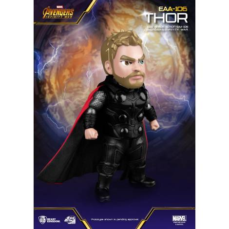 Beast Kingdom - Avengers Infinity War Egg Attack Action Figure Thor 16 cm