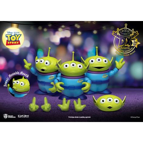 Beast Kingdom - Toy Story Dynamic 8ction Heroes Action Figure 3-Pack Aliens DX Ver. 12 cm