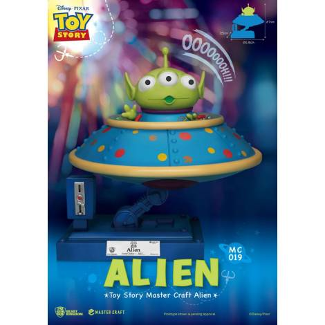 Beast Kingdom - Toy Story Master Craft Statue Alien 26 cm