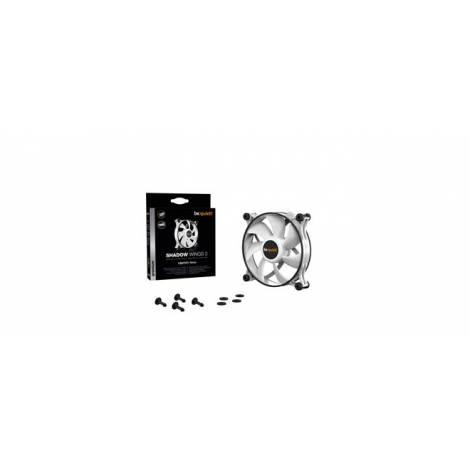 BEQUIET FAN SHADOW WINGS 2 WHITE 120MM PWM BL089, 4 PIN PWM, 1100RPM, 38,5CFM/65M3/H, 15,9 dB, Lifespan 80000h, WHITE, 3YW.
