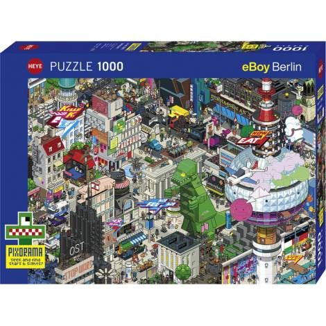 Berlin Quest 1000pcs (29915) Heye