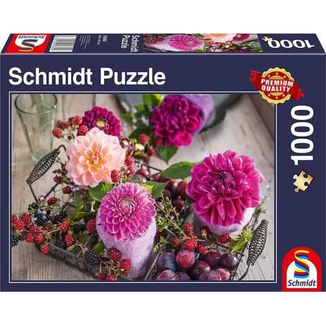 Berries And Flowers 1000pcs (58369) Schmidt Spiele
