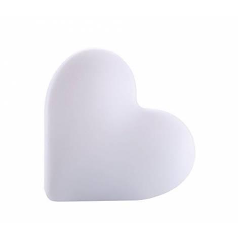 Bigben Interactive BTLSHEART 15W White - portable speakers (15 W, Wired & Wireless, Bluetooth/3.5 mm, White, Digital, Universal)
