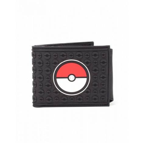 Bioworld Europe Pokemon - Pokeball Rubber Bifold Wallet (mw130216pok)