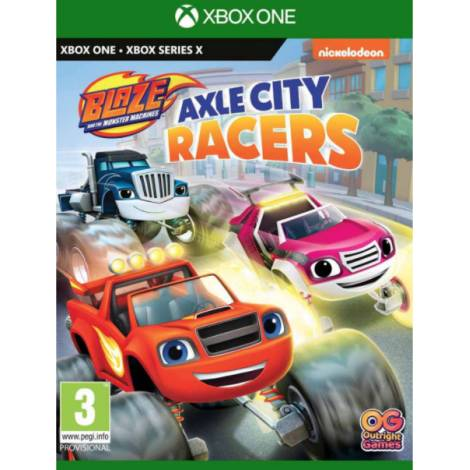 Blaze And The Monster Machines - Axle City Racers (XBOX ONE, XBOX SERIES X)