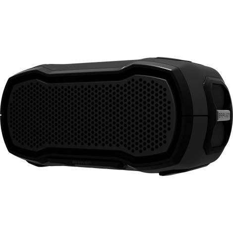 Braven Rugged Outdoor Waterproof Bluetooth Speaker Black (BRDYSOLOBBB)
