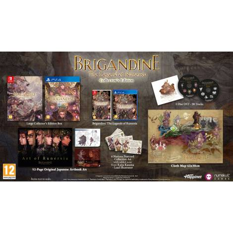 Brigandine Collectors Edition (Nintendo Switch)