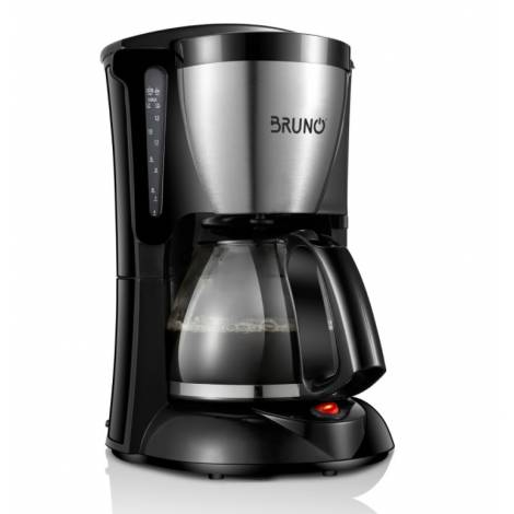 BRUNO Καφετιέρα φίλτρου, 1000W, 1.25lt (BRN-0019)