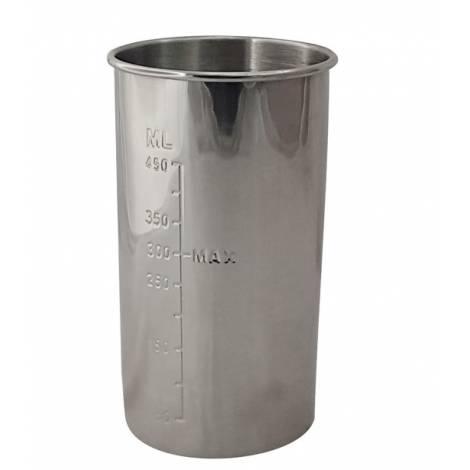 BRUNO Μεταλλικό δοχείο για μίξερ ροφημάτων, 450ml (BRN-0032)