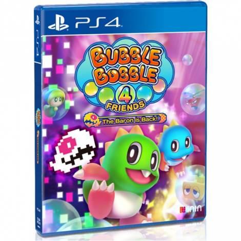 Bubble Bobble 4 Friends Baron is Back (PS4)
