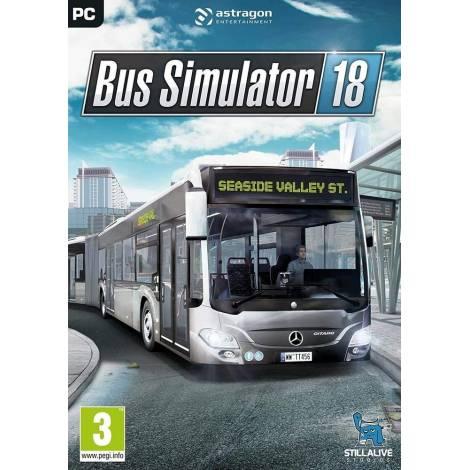 BUS SIMULATOR 18 (Cd Key Only κωδικός μόνο) (PC)