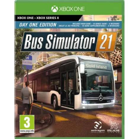 Bus Simulator 21 (Day One Edition) (Xbox One/Series X)