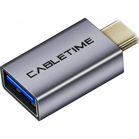Cabletime USB-C male - USB-A female (C160)