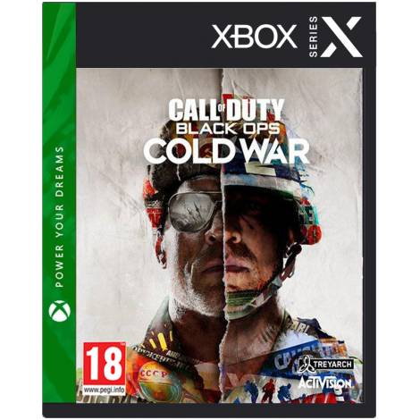 Call of Duty : Black Ops Cold War pre-order Aφίσα Α2 (XBOX SERIES X)