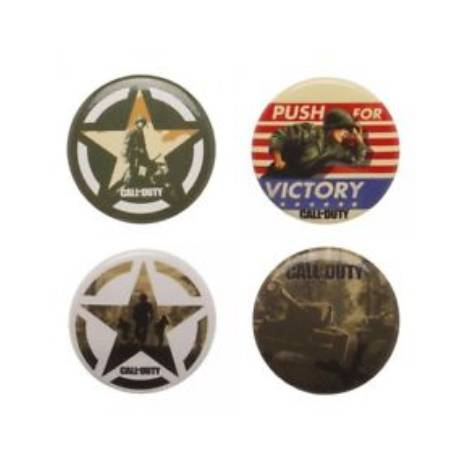 Numskull Call of Duty WWII - Supply Drop Pin Badge Set (inc. 5 Metal Pins)
