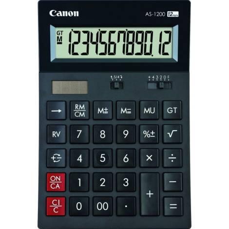 CANON Αριθμομηχανή AS-1200 - Μαύρο
