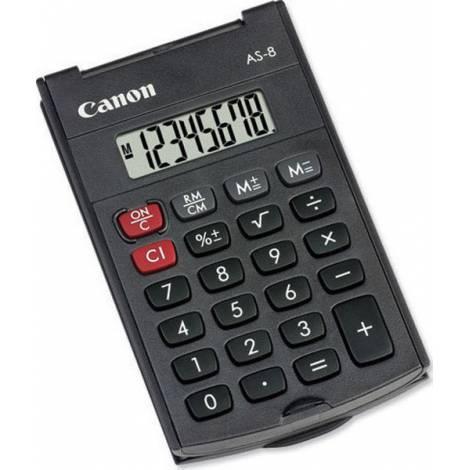 CANON Αριθμομηχανή AS-8 - Μαύρο