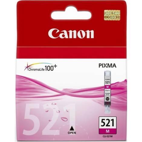 Canon CLI-521 - Δοχείο Μελανιού - Ματζέντα