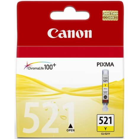 Canon CLI-521 - Κίτρινο - Δοχείο μελανιού