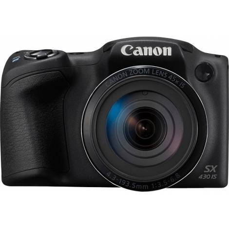 Canon Powershot SX430 IS - κάμερα Compact - Μαύρο (1790C002AA)