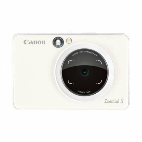 CANON ZOEMINI S ZV123 - Instant Digital Camera - Pearl White (Λευκό)