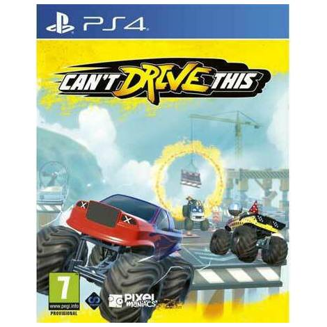 Can`t Drive This (PS4)