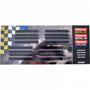 CARRERA DIGITAL (124, 132) EVOLUTION STANDARD STRAIGHTS X4 1:24 (20509)