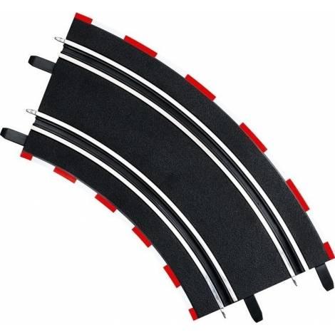 Carrera Slot Accessories - GO!!!/ DIGITAL 143 - 4 X Curve 2/45° (20061617)