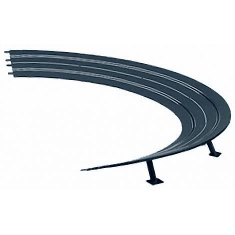 Carrera Slot Accessories - High Banked Curve 3/30° (6) 1:24 (20020576)
