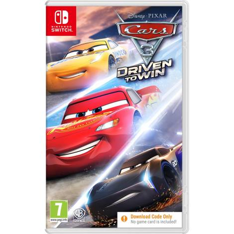 Cars 3: Driven to Win - Code In A Box (κωδικός) (Nintendo Switch)