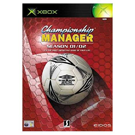Championship Manager 01/02  (XBOX) (CD Μονο)