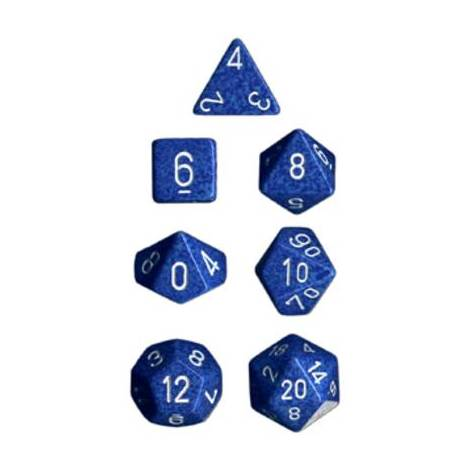 CHESSEX Spreckled Water 7 dice (CSX25306)